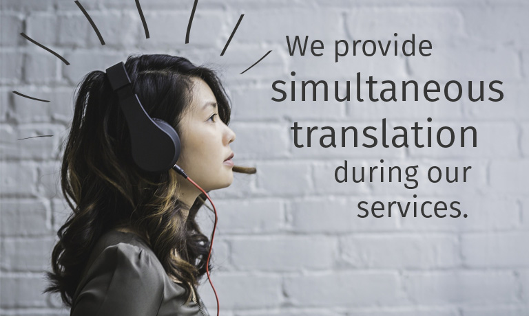 Simultanübersetzung | Simultaneous Translation